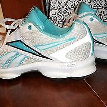Reebok Size 7 - Runtone - Sneakers - Tennis Shoes - Teal /aqua Accent  Photo