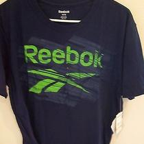 Reebok-Size M Navy T- Shirt Photo