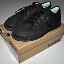 Reebok Skyscape Black on Black 360 Degree Foam Walking Sneakers Shoes Sz 9 Comfy Photo