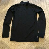 Reebok Speedwick Girls Long Sleeve Black Technical Shirt Size M 10-12 Photo
