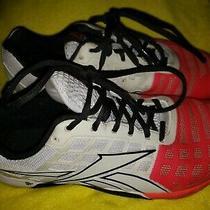 Reebok Sz 8 Men Crossfit Cf74 Sneakers Shoes Mens Size 8 Red White Photo