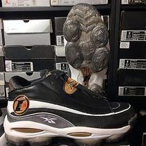 Reebok the Answer Dmx 10 Iverson Size 10.5 Blk/ Gold Cheapest on Ebay 39577 Photo