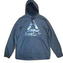 Reebok  Training 3 Elements Camo Logo Hoodie  Gray (Sizel)new Photo
