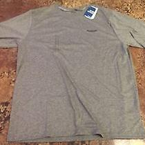 Reebok Vector Performance Playdry Training Shirt (Heather Gray Men's Large) Photo