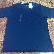 Reebok Vector Performance Playdry Training Shirt (Navy Men's Large) Photo