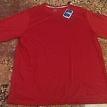 Reebok Vector Performance Playdry Training Shirt (Red Men's Large) Photo