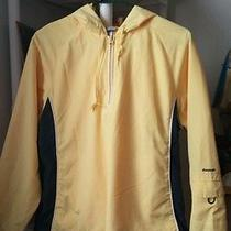 Reebok Wome Sport Jacket Yellow Medium Size for Any Exercise or Sport Photo