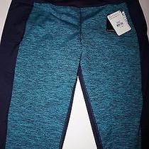 Reebok Women's Cold Weather Compression Space Dye Pattern Tights Size Xl Nwt Photo