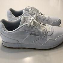 Reebok Womens Royal Glide White Sneakers Size 10.5 Photo