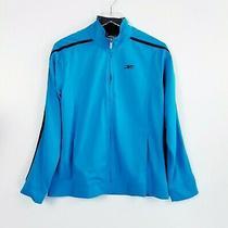 Reebok Women's Size L Nwt Blue Full Zip Athletic Jacket Entwine Endurance Photo