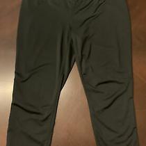 Reebok Women's Size Xl Black Capri Crop Legging Work Out Active Cropped Leggings Photo