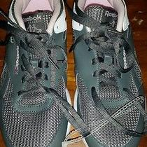 Reebok Women's Sneakers 8.5 Gray and Pink Photo