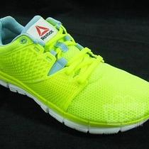 Reebok Women's Zquick Dash Running Shoes Size 6 Solar Yellow White M47657 Photo