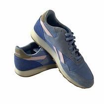 Reebok Womens Classic Jogger Light Blue/pink Walking Shoes Size 8.5 Photo