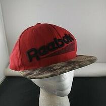 Reebok Wool Red Style Trucker Snapback Hat Cap X Photo