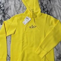Reebok Yellow Hoodie Tom & Jerry Small Mens Photo