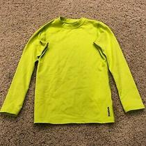 Reebok Youth Girls Play Dry Athletic Long Sleeve Top Size Xs 6-8 Photo