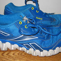 Reebok Zig-Zags Aqua Blue Sneakers Size 3   Boys Photo