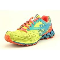 Reebok Zigkick Trail 1.0 Womens Size 7.5 Multi-Colored Trail Running Shoes Used Photo