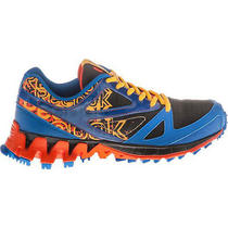 Reebok Zigkick Trail Size 5 Black/blue/orange Juniors Running Shoes V53748  Photo