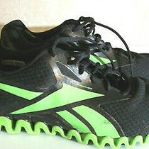 Reebok Zignano Black/zombie Green Stable Fit Sneakers - Men's Size 11m  Photo