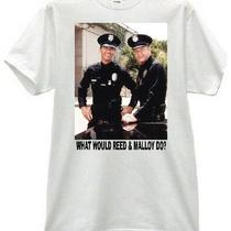 Reed & Malloy Wwd Adam-12 Martin Milner Retro Cop Tv Police Tee Shirt Photo