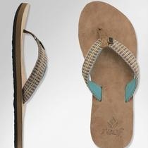 Reef Gypsylove Womens Aqua Sandals Flip-Flops New Size 8 Photo