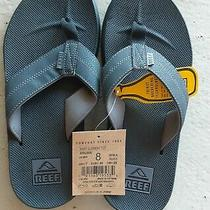 Reef Men's Element Tqt Sandals With Bottle Opener Size 8 Nwt Black Photo