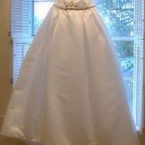 Reem Acra Strapless Wedding Dress Photo