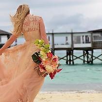 Reem Acra Wedding Dress Photo