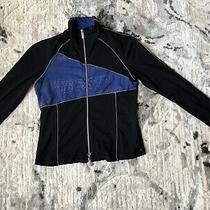 Reflective Bebe Sport Black Blue Sweater Photo