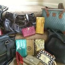 Rehab/resale Lot Auth14piece Bags/wallets Coachfossilsakdooneykipsee Desc Photo
