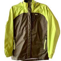 Rei Boy's Rain Jacket With Hood Size Xl (18) Photo