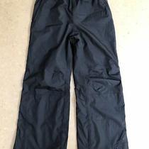 Rei E1 Elements Lined Snow Ski Rain Hiking Pants Black Youth Kids Small 8 Photo