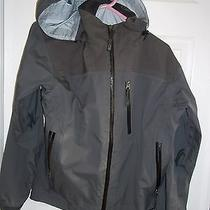 Rei E1 Elements Ski Shell Jacket Hooded Taped Zip Womens Medium Photo