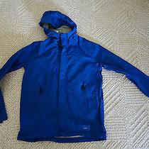 Rei  Elements Boys L 14/16 Waterproof Breathable Rain Wind Taped Seams Jacket Photo