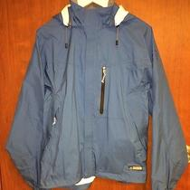 Rei Elements E1 Rain Hooded Jacket Mens M  Taped Seams Athletic Running Hiking Photo