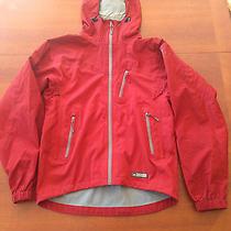 Rei Elements E1 Softshell Hooded Jacket Men's Sz Small Dark Red Photo