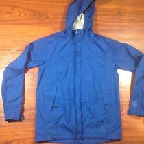 Rei Elements E1 Wind Rain Hooded Lightweight Nylon Jacket Blue Boys Large Photo