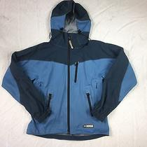 Rei Elements E1 Women's Blue Hooded Zip Up Long Sleeve Hooded Jacket Size S Photo