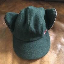 Rei Elements Green Beanie Hat Cap With Ear Flaps Photo