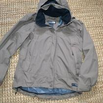 Rei  Elements Hooded Jacket Rain Hiking Brown Size Xs Small Photo