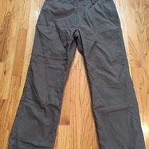 Rei Elements Outdoor Gear Mens Size 34 X30(29)  Lined Brown Olive Pants Photo