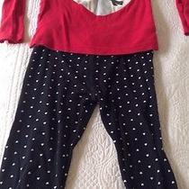Reindeer Heart Holiday Pajamas 3t Photo