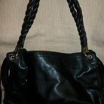 Relic by Fossil Black Faux Leather Large Purse Free Shipping Photo