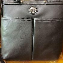 Relic by Fossil Bleeker Collection Messenger & Cross Body Black  New Photo