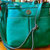 Relic by Fossil Bleeker Collection Messenger & Cross Body Emerald Green  New Photo
