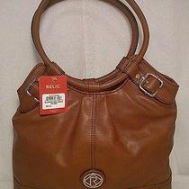 Relic by Fossil Brown Bleeker Ring Shopper Purse Handbag Nwt 68 Photo