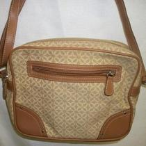 Relic by Fossil Canvas Beige Purse Free Shipping Photo