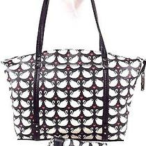 Relic  by Fossil Caraway Handbag Zip Top Tote Swans Black & White/caraway' Wrist Photo